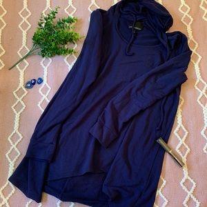 {Cynthia Rowley} blue pullover